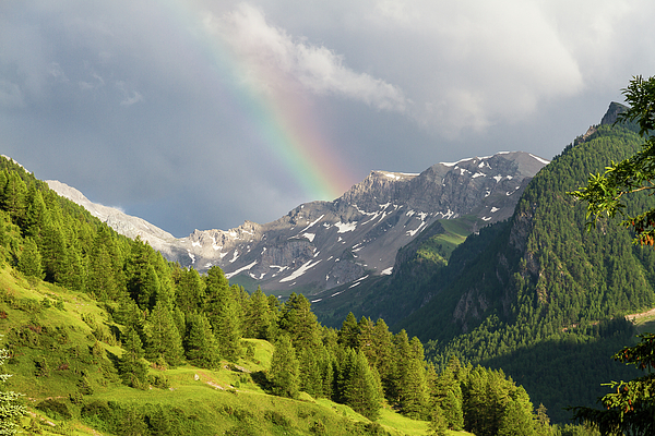 Paul MAURICE - Rainbow over the mountains